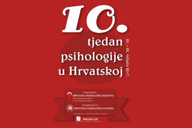 Događanja u 10. tjednu psihologije u Poreču