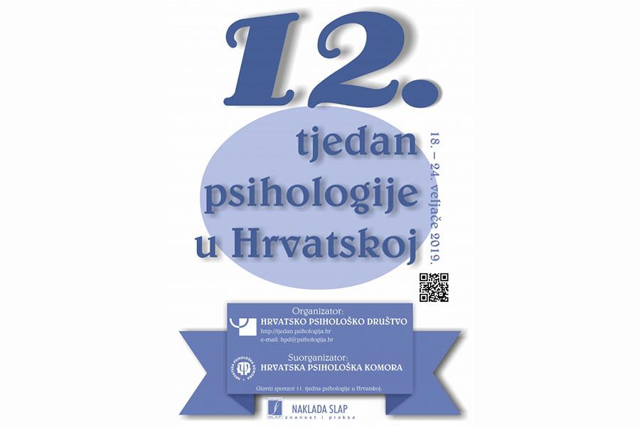 12. Tjedan psihologije