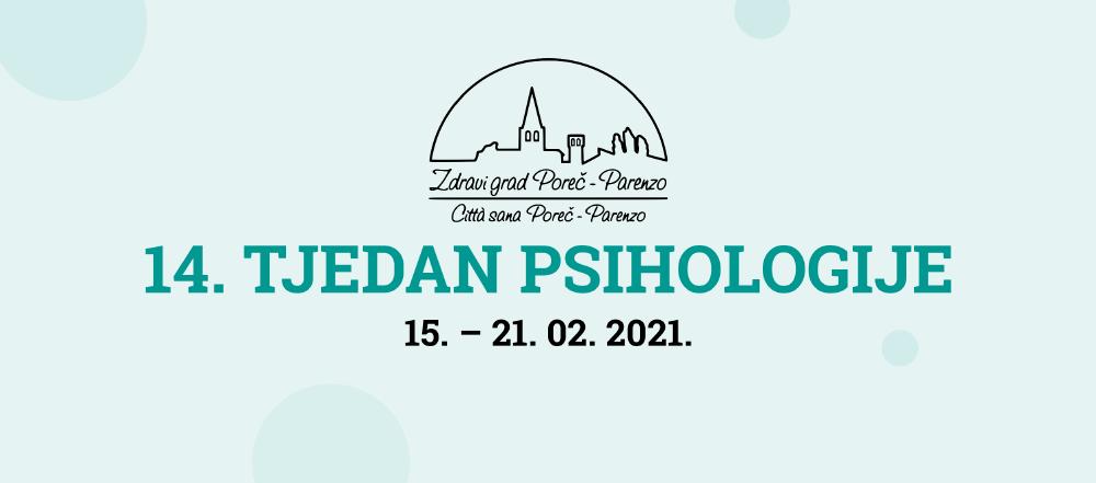 14. Tjedan psihologije u Poreču