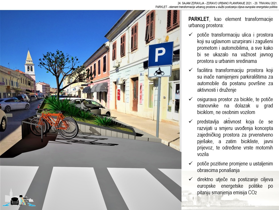 Parklet u Poreču – intervencija za zdravlje u zajednici